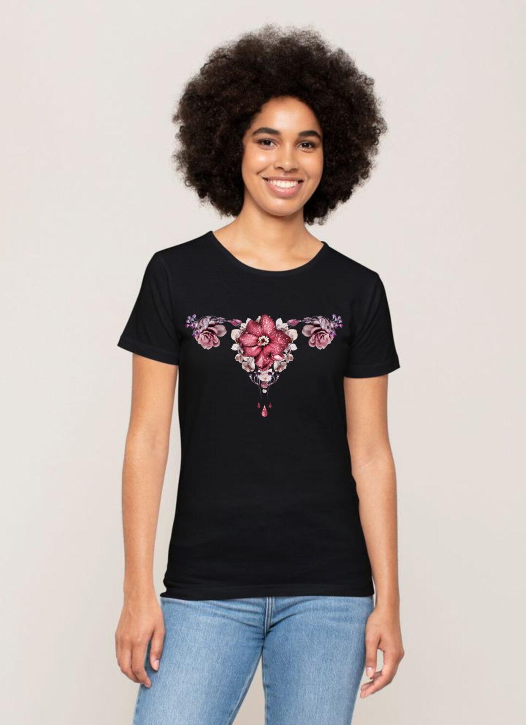 let it flow naisten t-paita