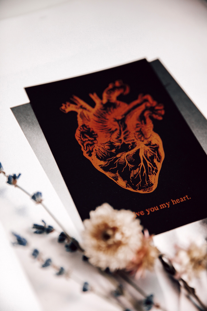 Postikortti   I give you my heart 6