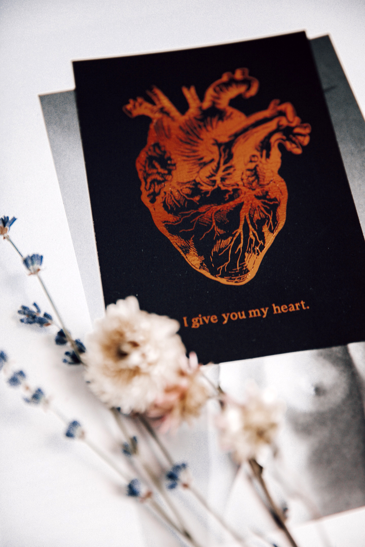 Postikortti | I give you my heart 4