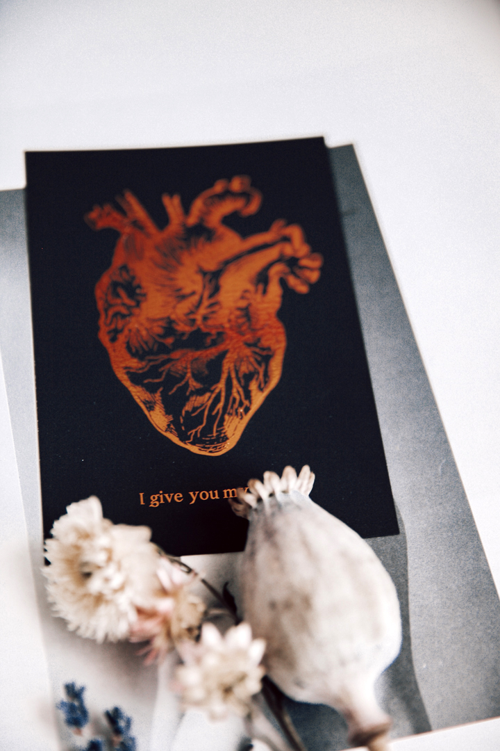 Postikortti   I give you my heart 3