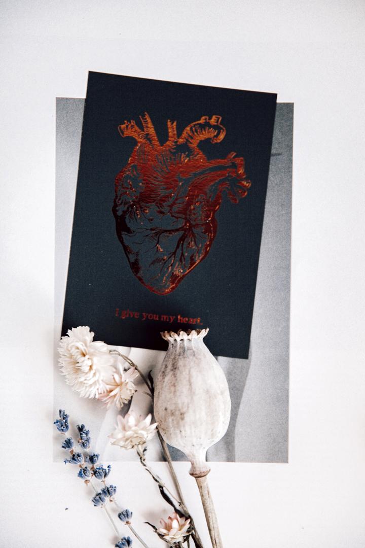 Postikortti   I give you my heart 2