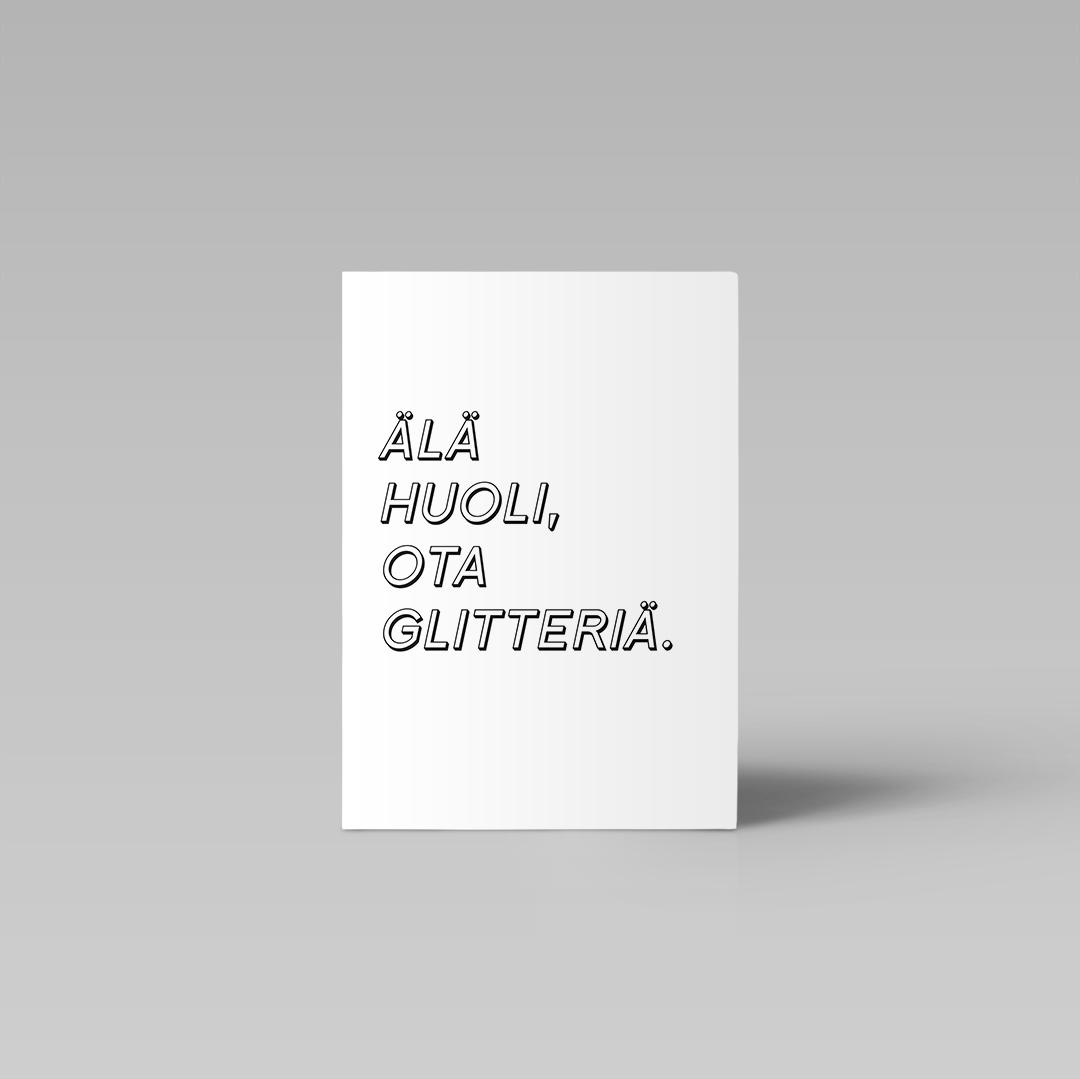 Postikortti | Glitter 1