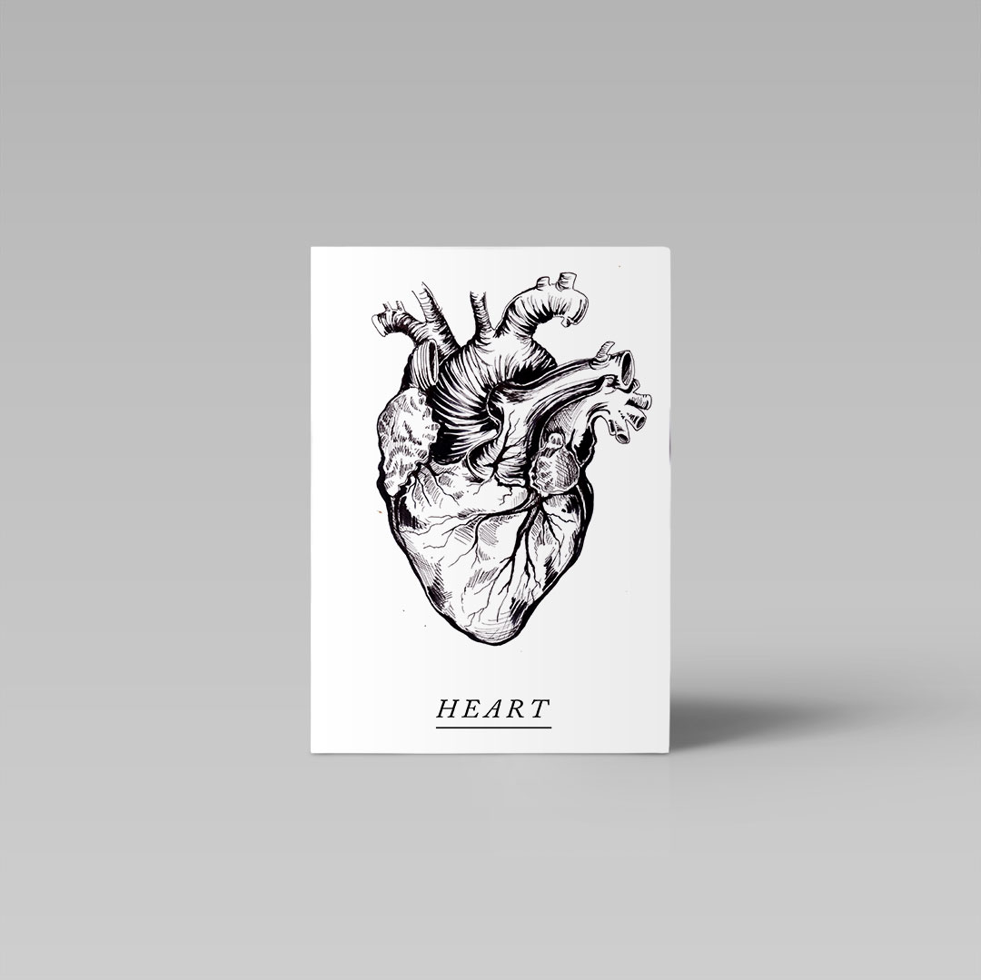 Postikortti | Heart 2