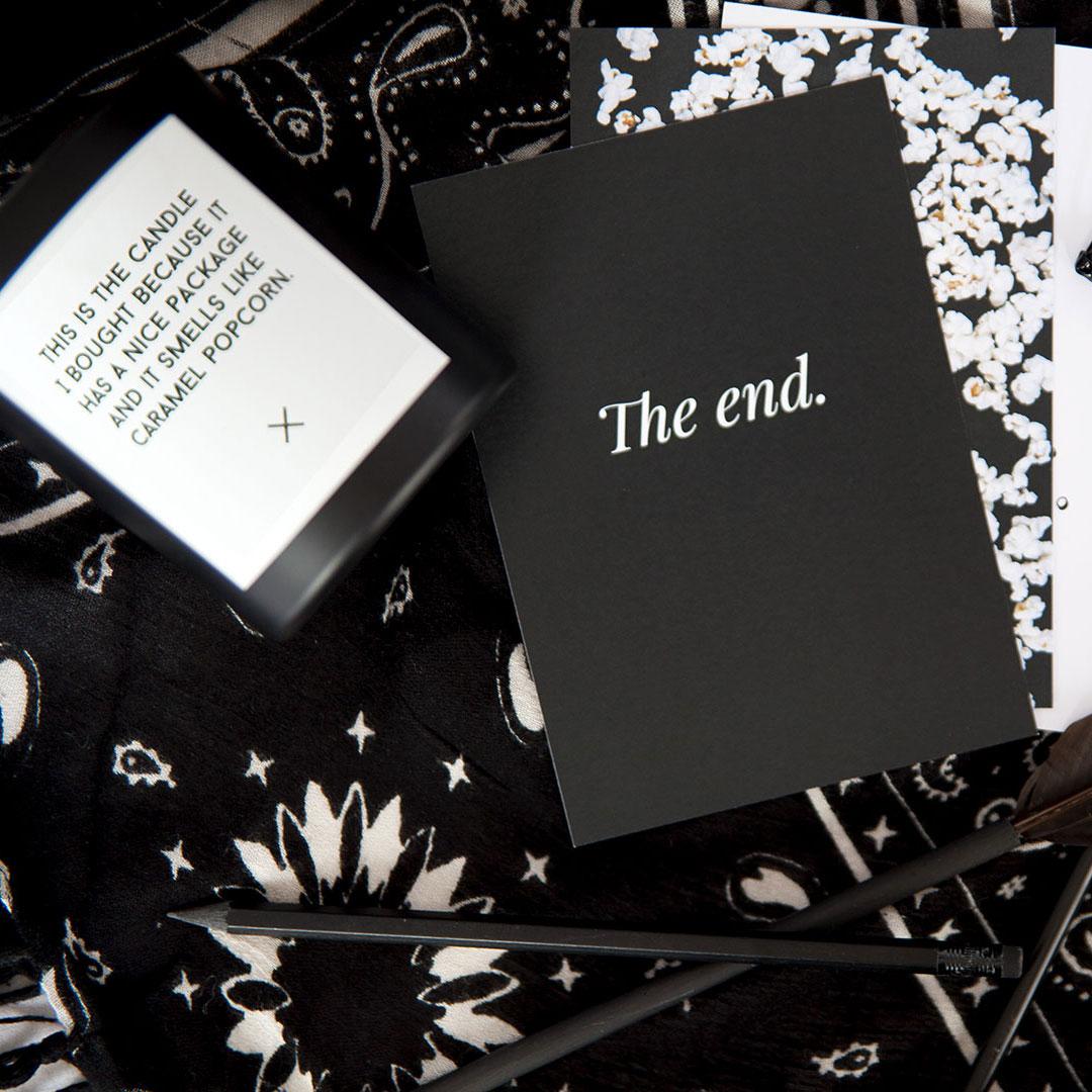 Postikortti | The end 3