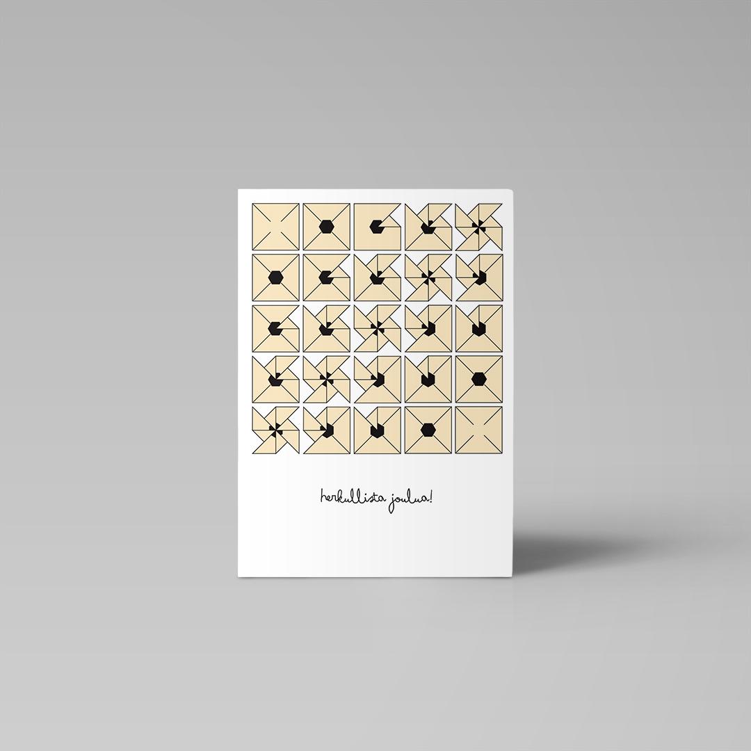 Postikortti  | Joulutorttu 1