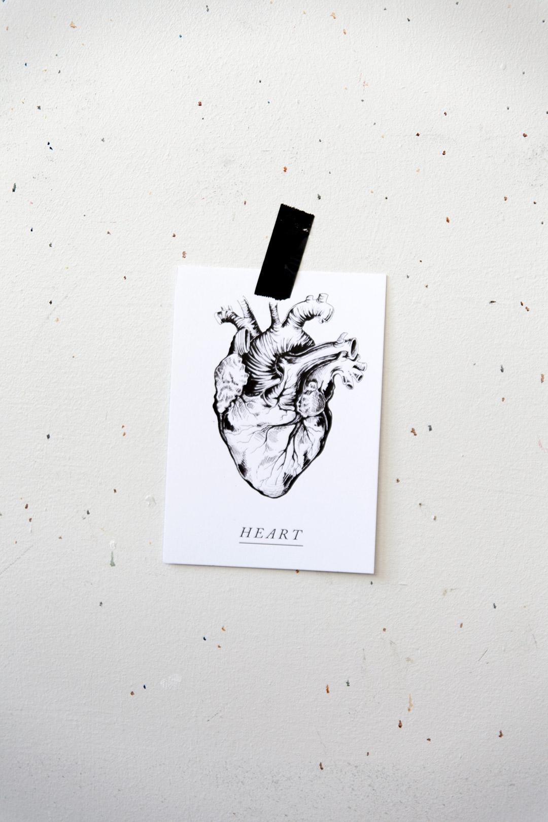 Postikortti | Heart 5