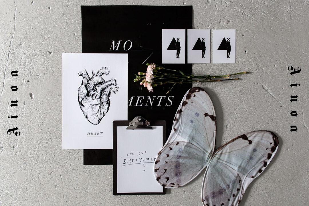 postikortit, julisteet ja muut paperituotteet, jotka menevät tunteisiin – Ainoa