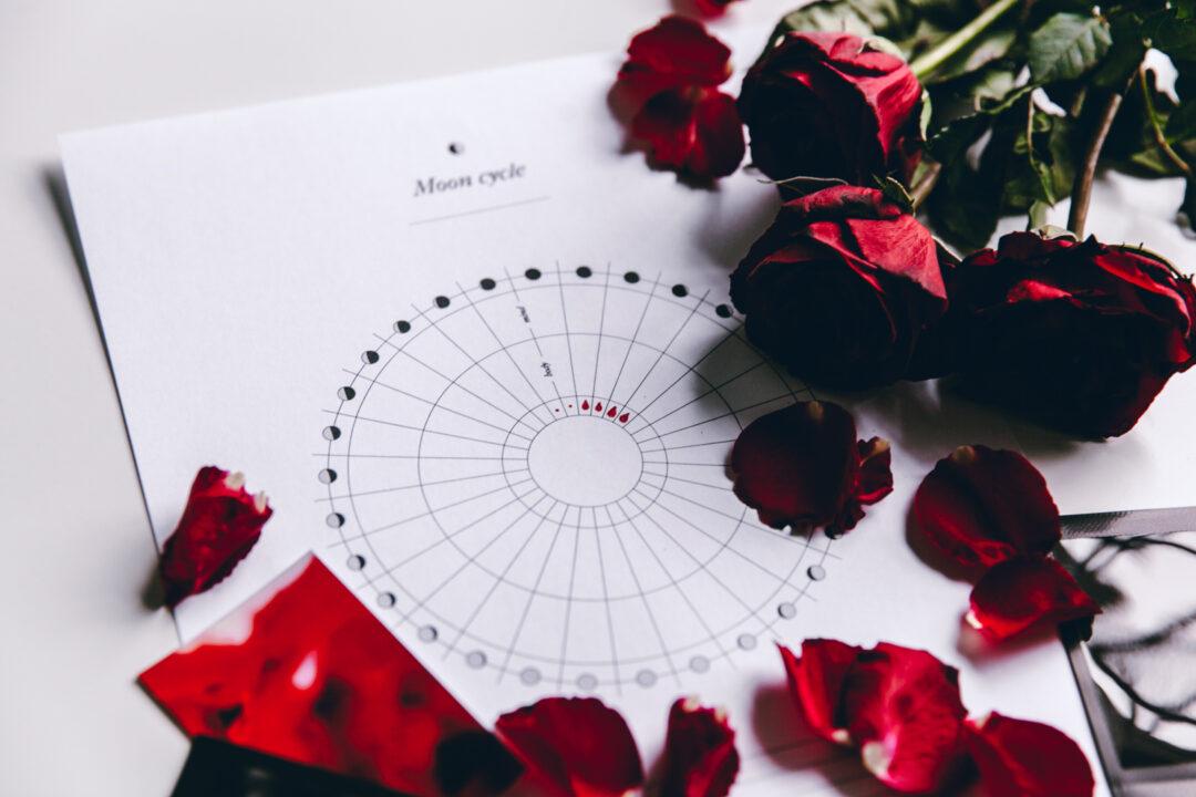 Moon Cycle kuukautistracker | tulostettava 7