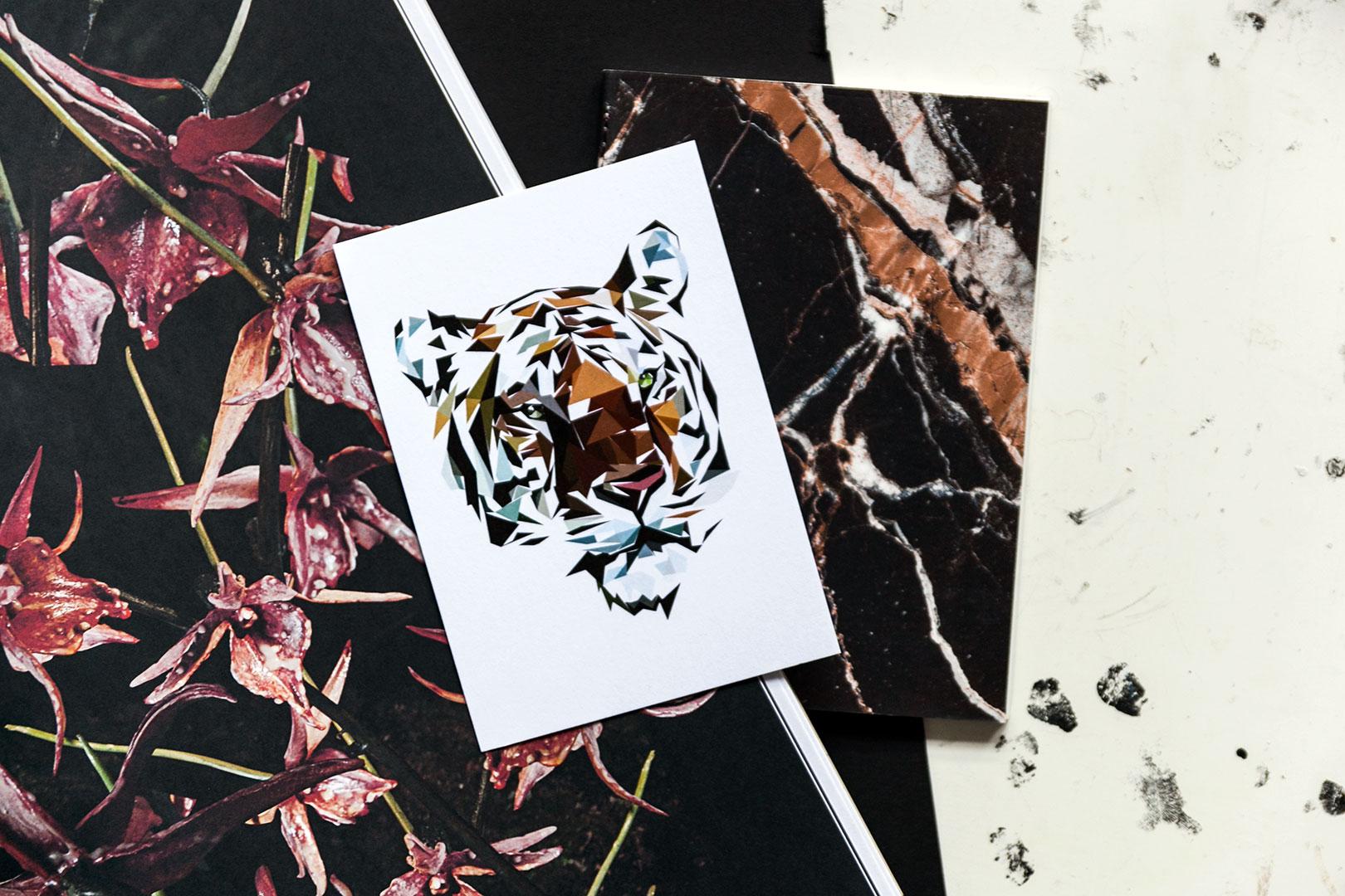 Postikortti | Tiger