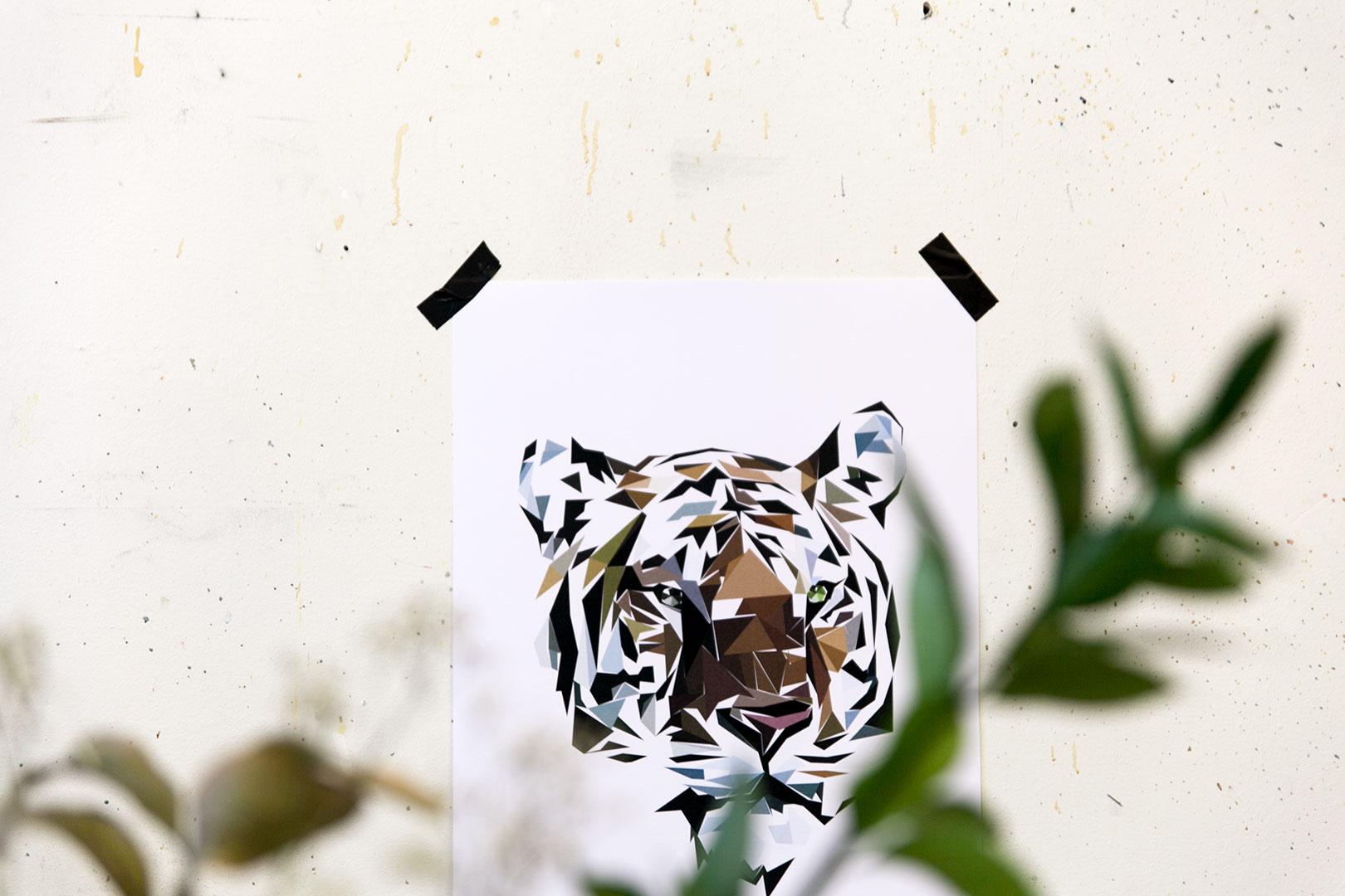 Juliste | Tiger