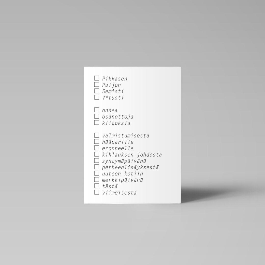 Postikortti | Pikkasen paljon 1