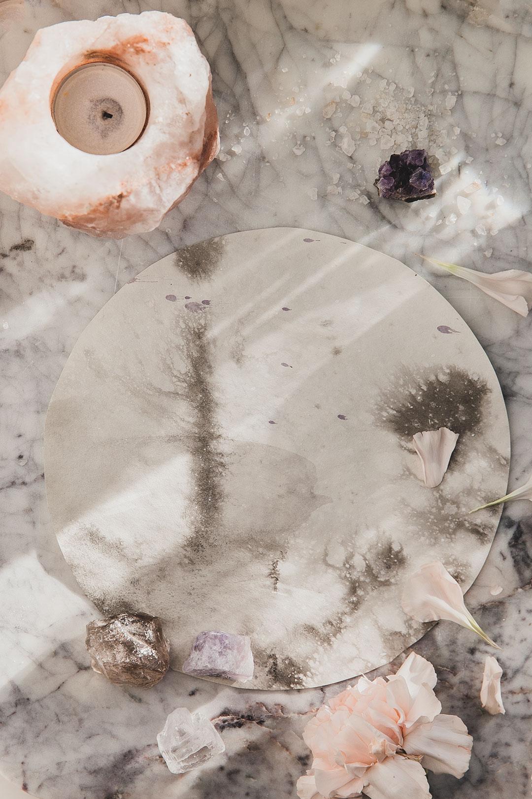 Moon magic | käsin maalattu uniikkikappale 4