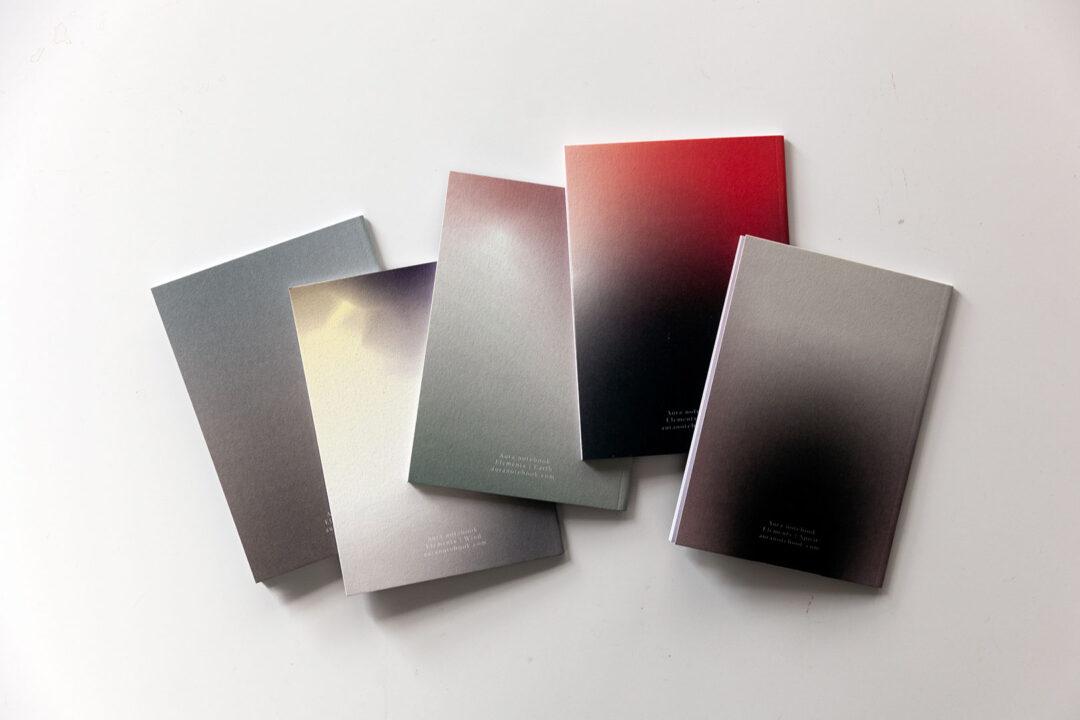 Aura notebook Elements A6 | 5 vihkon setti 3