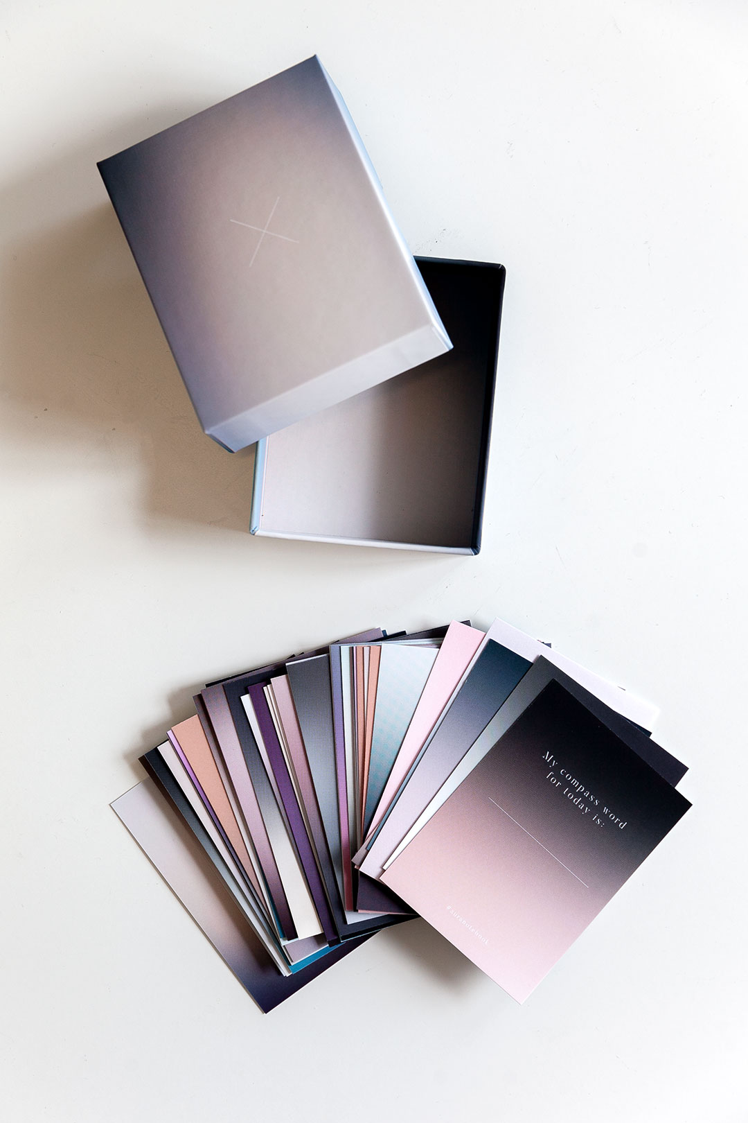 Aura notebook Miracle Lines | journaling-kortit 2