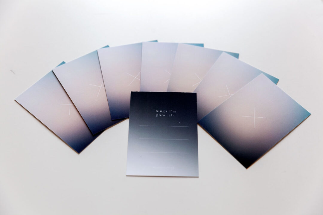 Aura notebook Miracle Lines | journaling-kortit 13