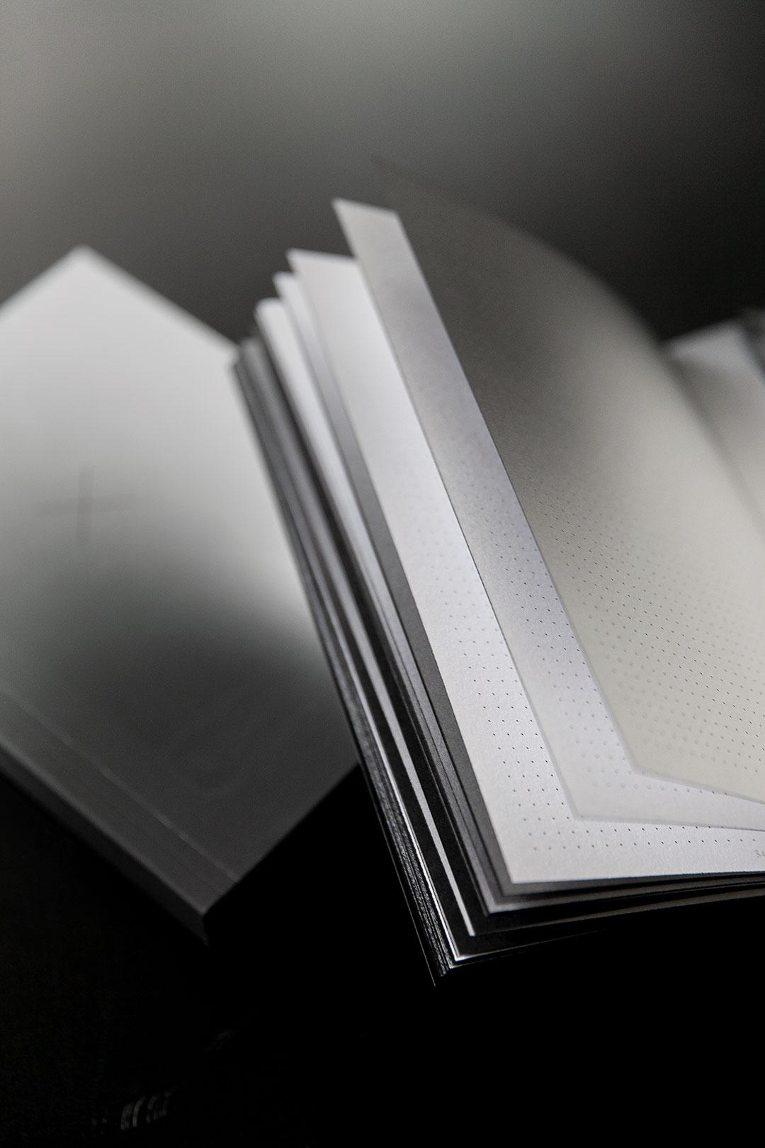 Aura notebook A5 Monochrome slim   bullet journal 20