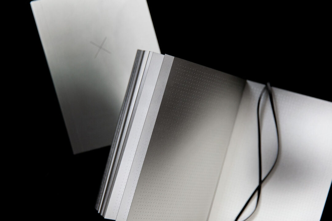 Aura notebook A5 Monochrome slim   bullet journal 4