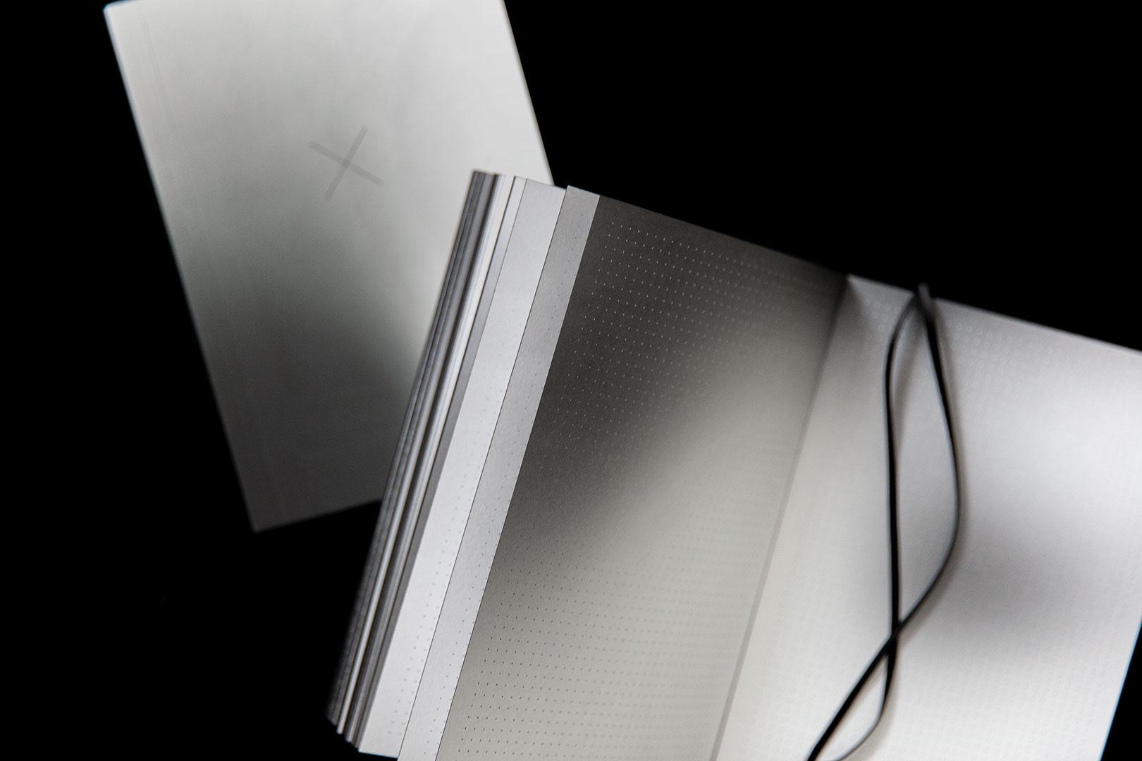 Aura notebook A5 Monochrome slim   bullet journal