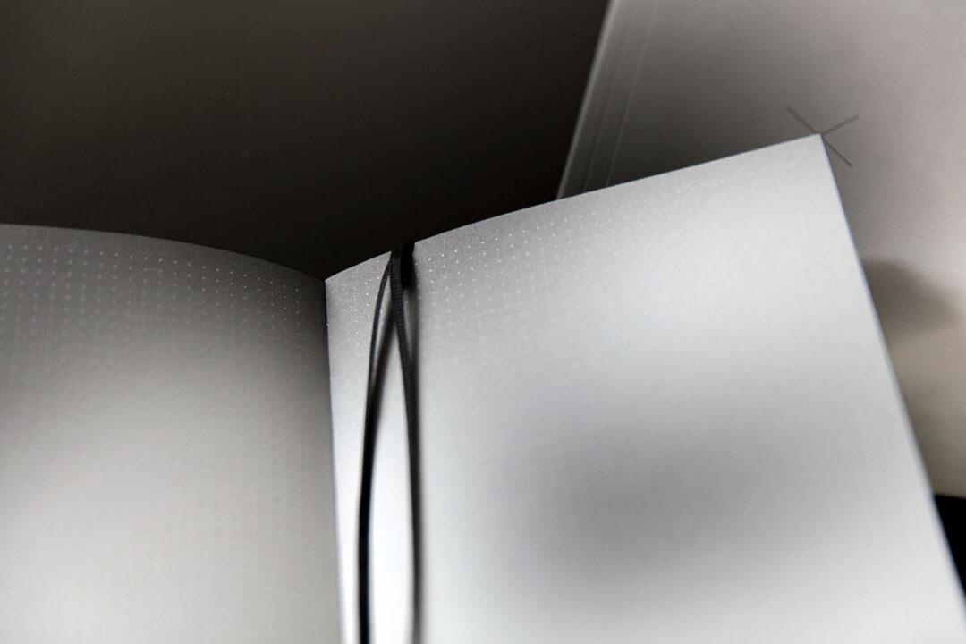 Aura notebook A5 Monochrome slim   bullet journal 3