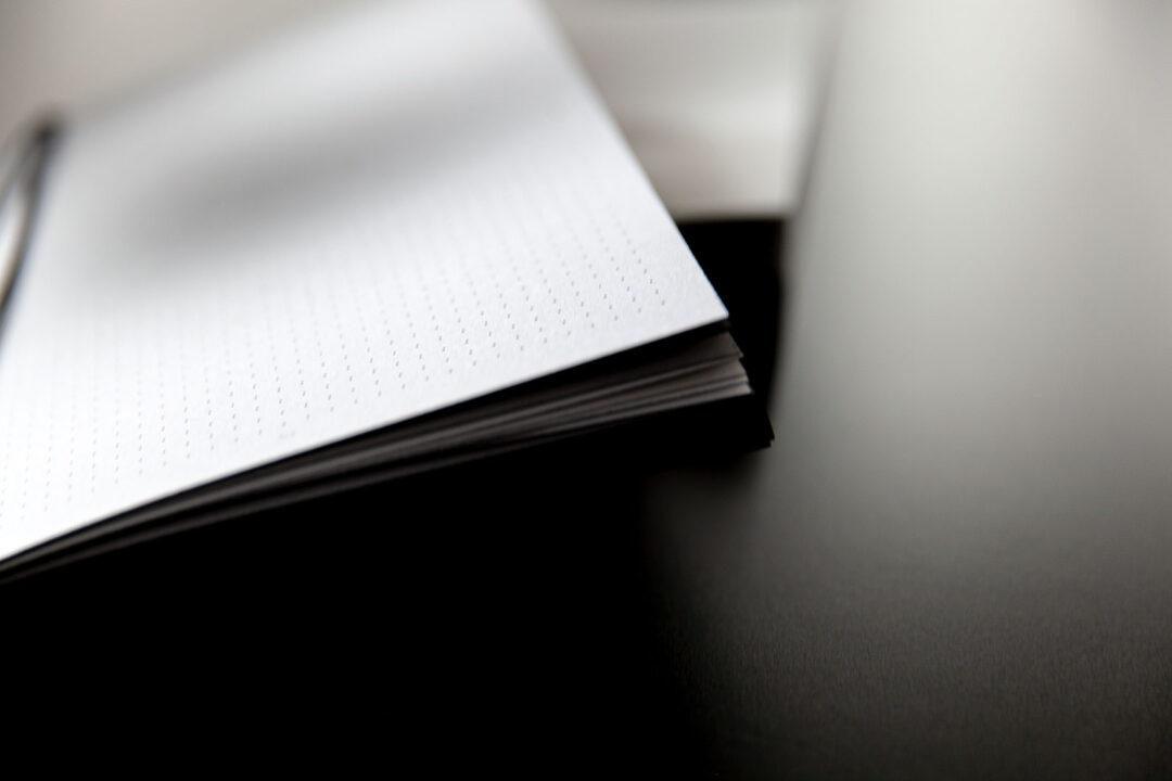Aura notebook A5 Monochrome slim   bullet journal 18