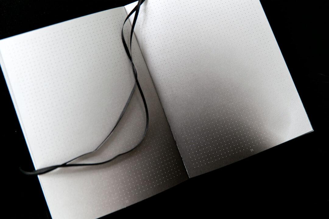 Aura notebook A5 Monochrome slim   bullet journal 17