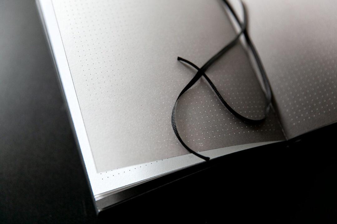 Aura notebook A5 Monochrome slim   bullet journal 15