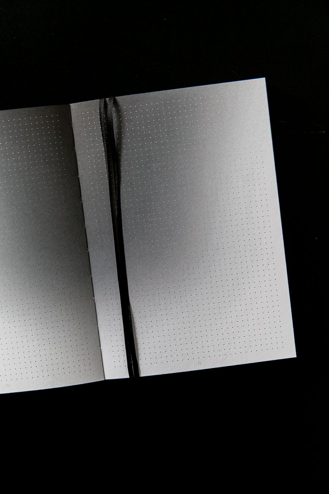 Aura notebook A5 Monochrome slim   bullet journal 10