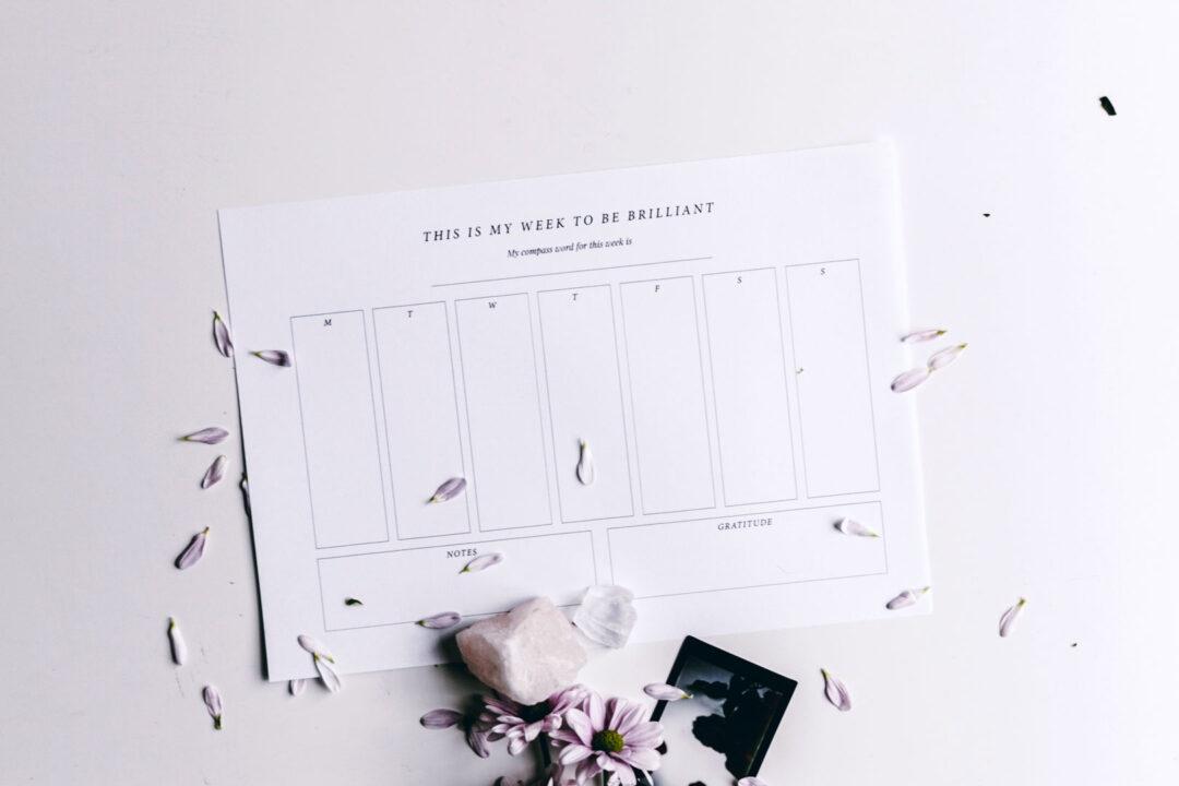 Viikkosuunnitelma | tulostettava 7