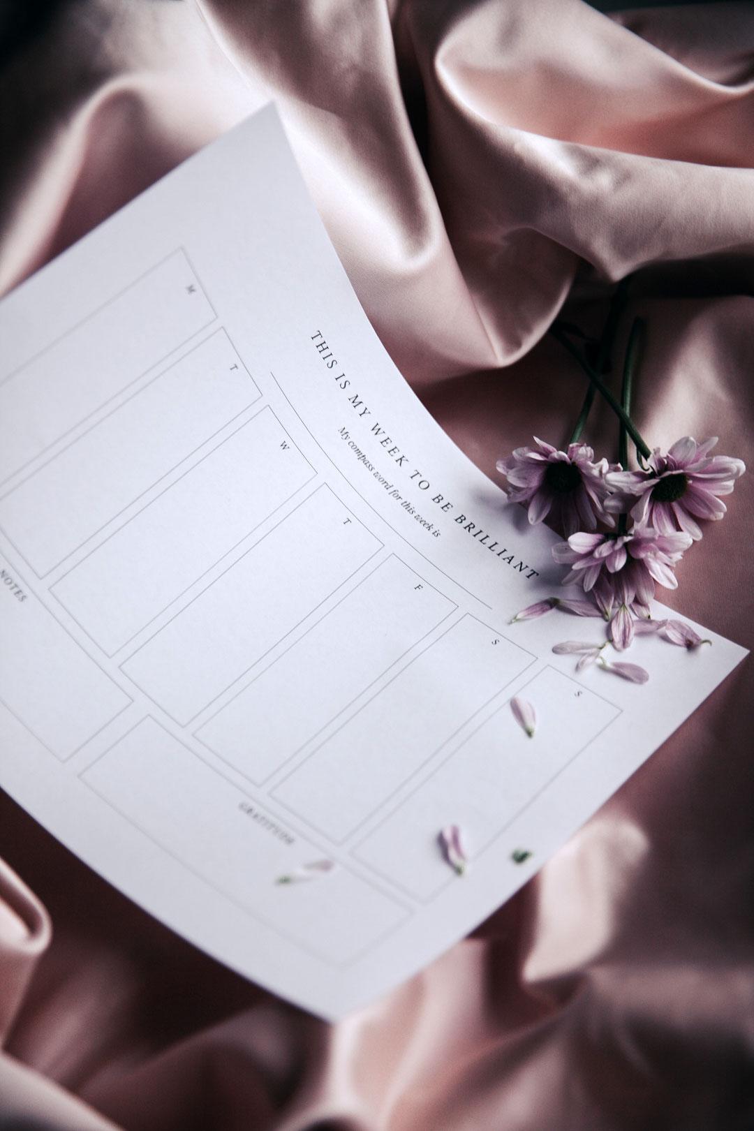 Viikkosuunnitelma | tulostettava 1