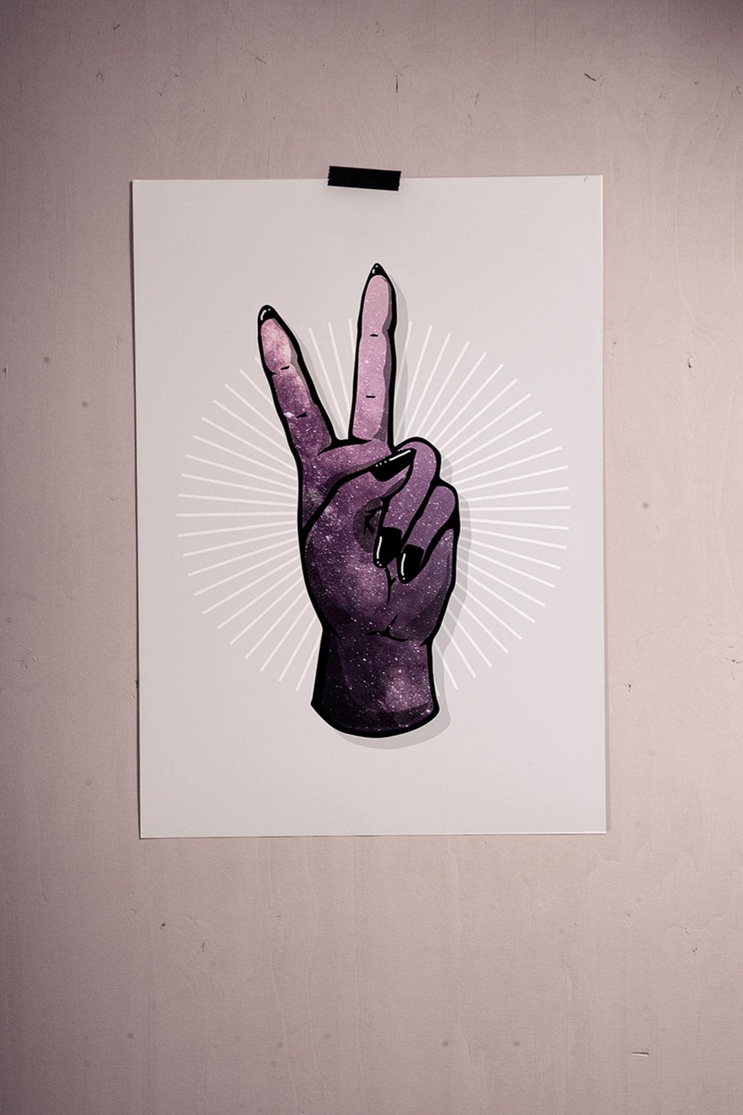 Juliste | Space hand