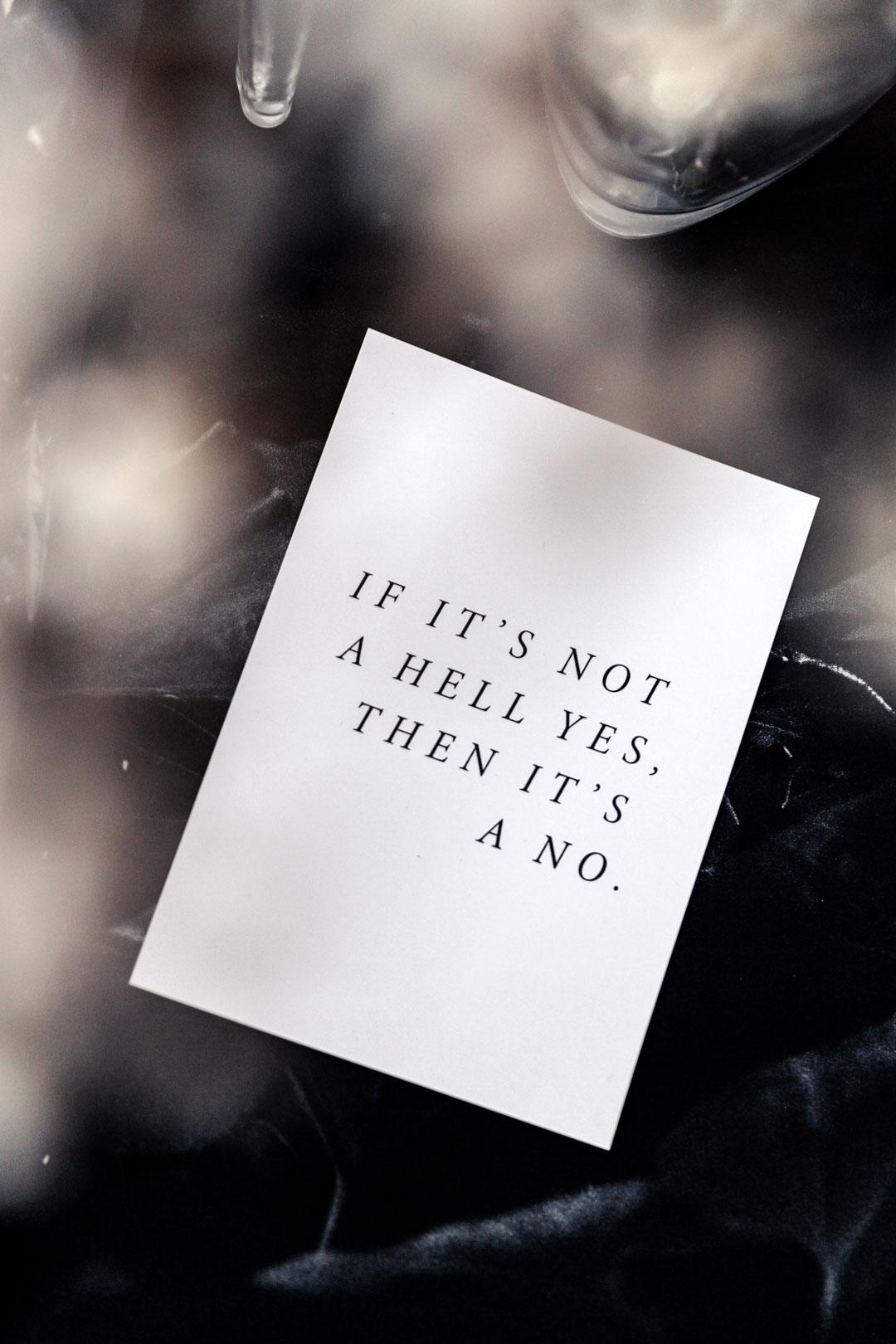 Postikortti | Hell yes